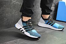 Кроссовки мужские Adidas Equipment adv 91/18,голубые с серым 45р, фото 2