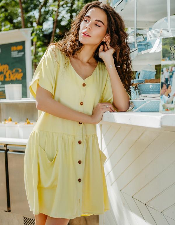Платье LiLove 1-007 44-46 желтый