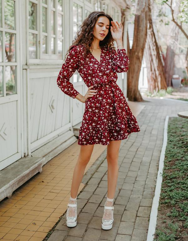 Платье LiLove 1-008 42-44 красный
