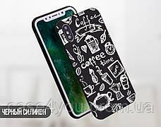 Силиконовый чехол для Apple Iphone 5c (Coffee Time), фото 2