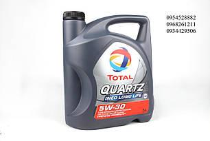 Масло 5W30 Quartz INEO ECS (5L) TOTAL 151261 (Франция)