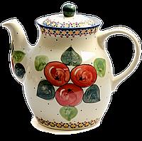 Заварочный керамический чайник 2L Яблука наливні