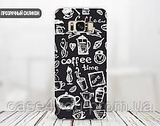 Силиконовый чехол для Samsung G920 Galaxy S6 (Coffee Time), фото 3