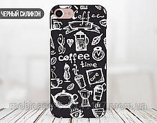 Силиконовый чехол для Samsung G925 Galaxy S6 Edge (Coffee Time), фото 3