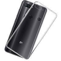 Прозрачный силиконовый чехол для Xiaomi Mi 8 Lite