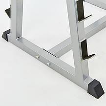 Подставка (стойка) для штанг, грифов, фото 3