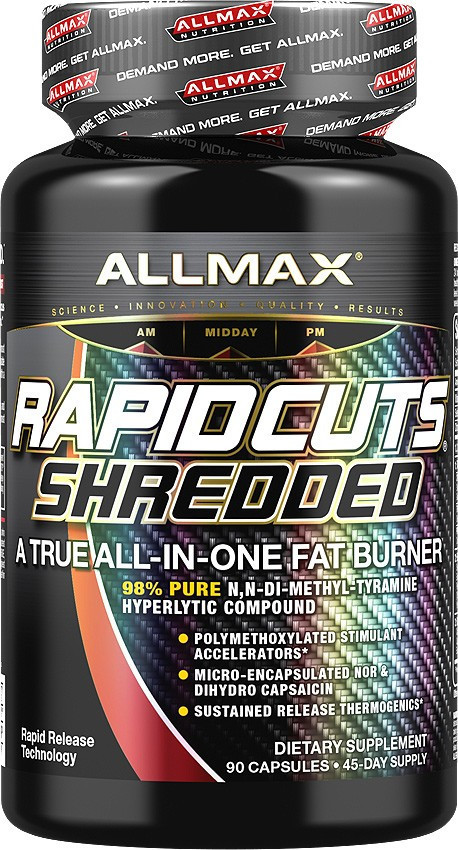 Жиросжигатель AllMax Nutrition Rapidcuts Shredded (90 капс)