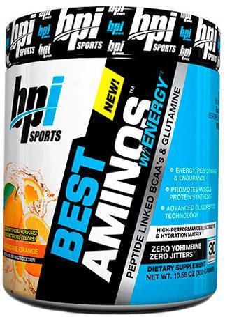 BCAA аминокислоты BPI sports Best Aminos w/Energy (300 г)