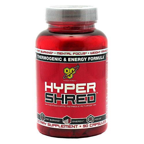 Жиросжигатель BSN Hyper Shred (90 капс)
