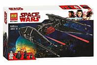 Конструктор Bela 10907 Звездные воины Истребитель TIE Кайло Рена (аналог Lego Star Wars 75179)
