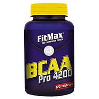 BCAA аминокислоты FitMax BCAA Pro 4200 (120 таб)