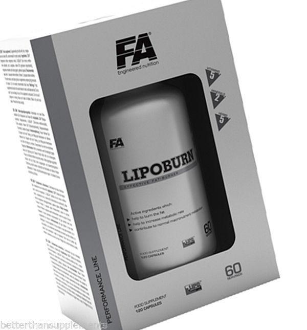 Жиросжигатель Fitness Authority Lipoburn (120 капс)