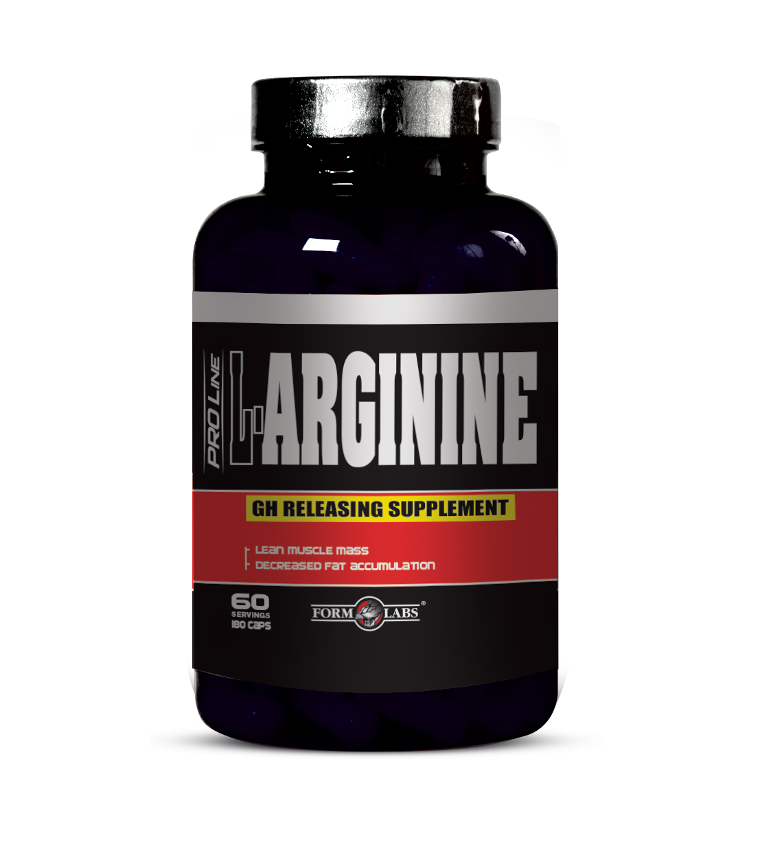 Аминокислоты Form Labs L-Arginine (180 капс)