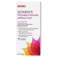 Витамины для мам GNC Prenatal Formula without Iron (60 капс)