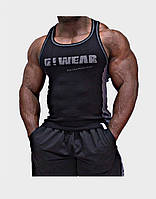 Мужская майка Gorilla wear G!WEAR rib tanktop (Black/Grey)