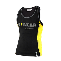 Мужская майка Gorilla wear G!WEAR rib tanktop (Black/Yellow)