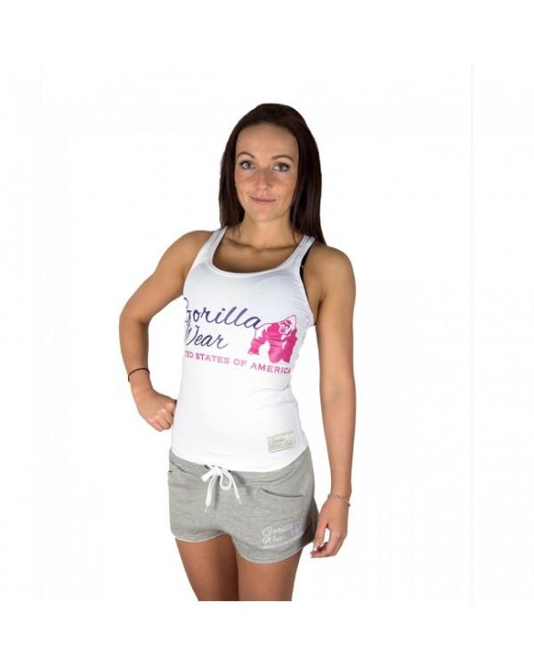 Женская майка Gorilla wear Women's Classic Tank Top (White)