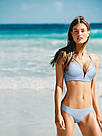 Victoria's Secret PINK Купальник Пуш-Ап с Высокой талией р.XS, Голубой, фото 3