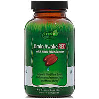 Препарат для улучшения работы мозга Irwin Naturals Brain Awake Red (60 капс)