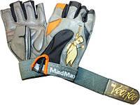 Женские перчатки для фитнеса и бодибилдинга MadMax Voodoo MFG 921