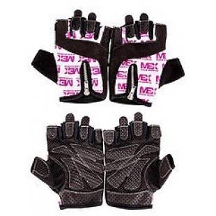 Женские перчатки для фитнеса и бодибилдинга MEX Nutrition Smart Zip Gloves Purple