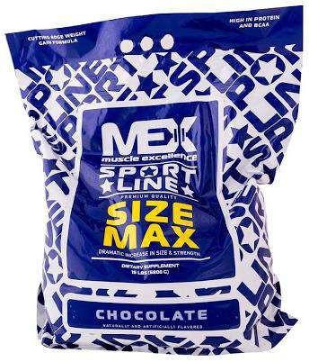 Гейнер MEX Nutrition Size Max (6.8 кг)