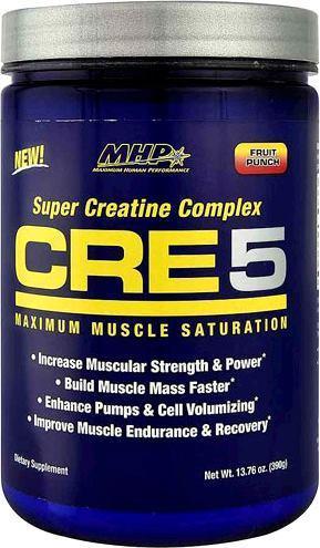 Креатин MHP CRE 5+ Energy Super Creatine Complex 60 порц. (300 г)