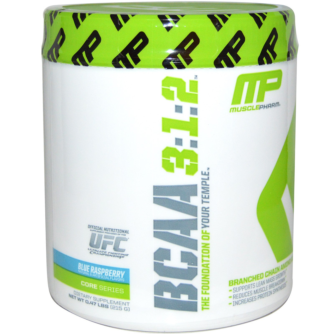 BCAA аминокислоты MusclePharm BCAA 3:1:2 (215 г)