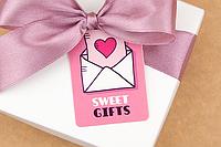 """Бирка декоративная 135 """"Sweet gifts"""", фото 1"""