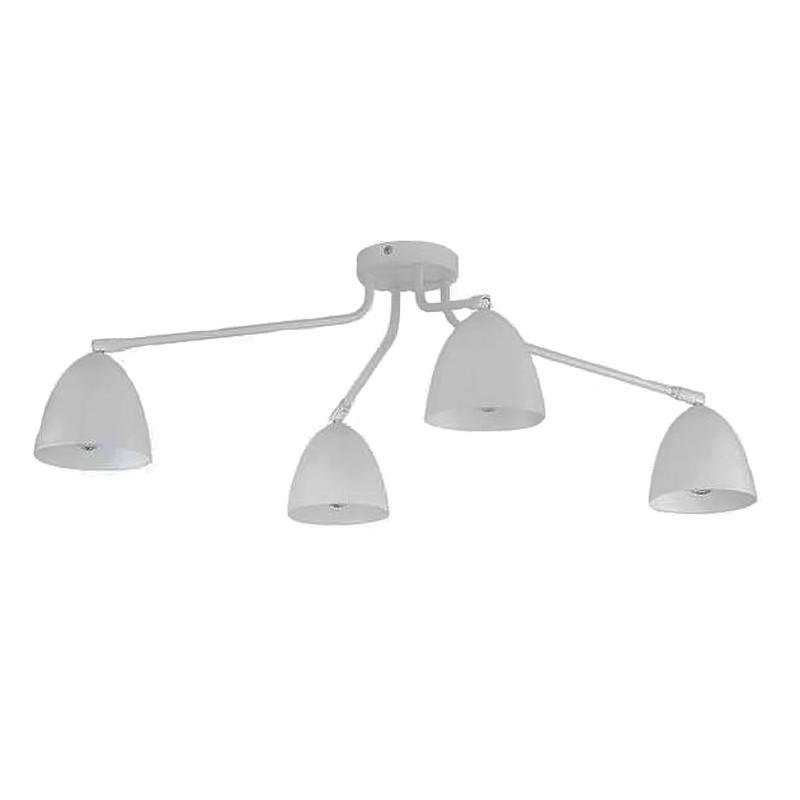 Люстра потолочная на 4 лампы TK Lighting 2373 Loretta White  (Польша)