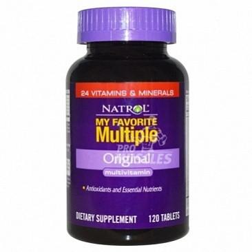 Витаминно-минеральный комплекс Natrol My Favorite Multiple (180 капс)