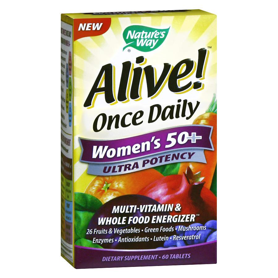 Витамины для женщин Nature's Way Once Daily Women's 50 + MultiVitamin (60 таб)