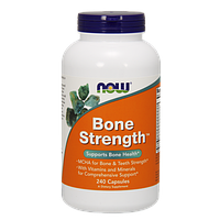 Препарат для всесторонней поддержки костей NOW Bone Strength (240 капс)