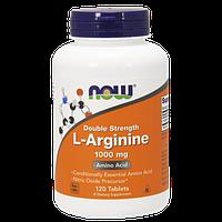 Предтренировочный комплекс NOW L-Arginine 1000 mg (120 таб)