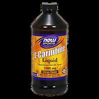 Жиросжигатель NOW L-Carnitine Liquid 1000 mg (473 мл)