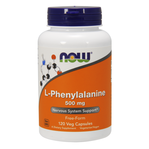 Аминокислоты NOW L-Phenylalanine (120 капс)