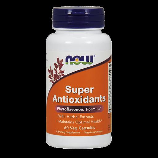 Антиоксидантная защита от вредных токсичных веществ NOW Super Antioxidants(60 капс)