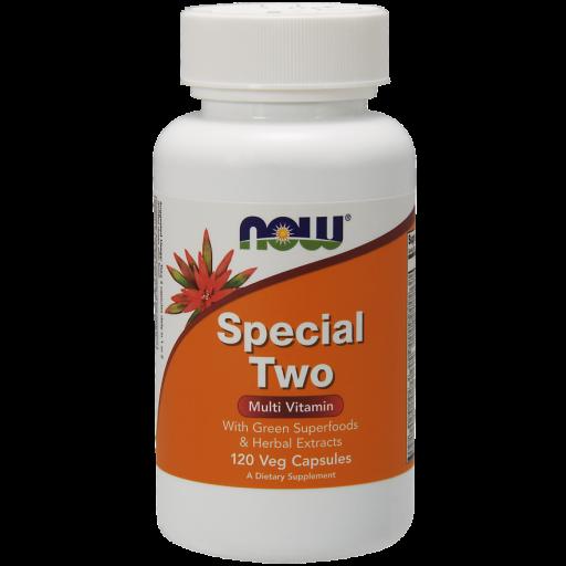 Витаминно-минеральный комплекс NOW Special Two (120 капс)