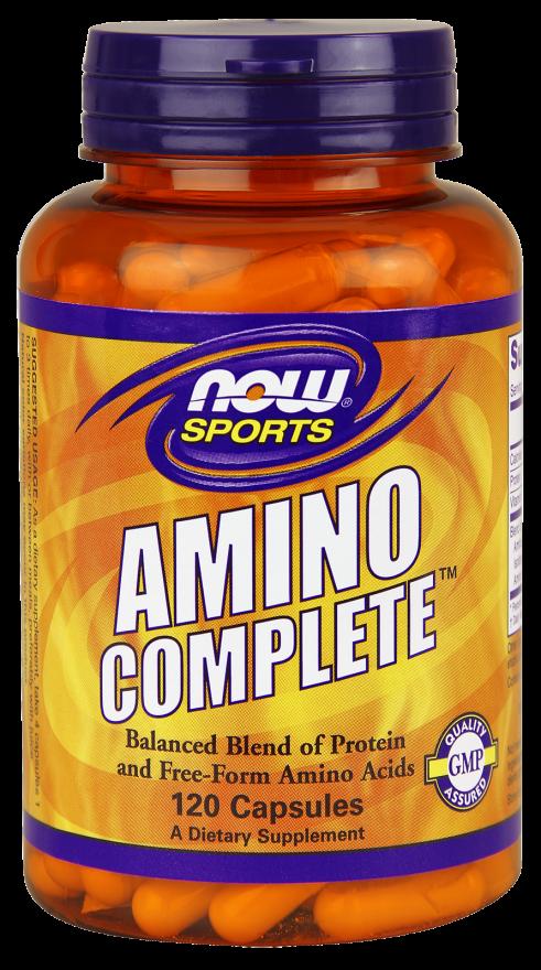 Аминокислоты NOW Foods Amino Complete (360 капс)