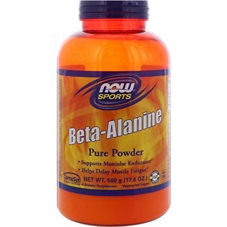 Бета-аланин NOW Foods Beta-Alanine (500 г)
