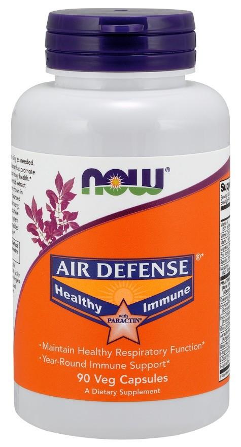 Препарат для поддержания и улучшения иммунитета NOW Foods Air Defense Healthy Immune (90 капс)