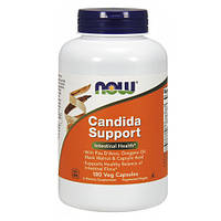 Энергетические и специальные препараты NOW Foods Candida Support (180 капс)