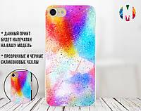Силиконовый чехол для Xiaomi Redmi 6A Colorful splash (31051-3113)