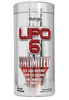 Жиросжигатель Nutrex Lipo 6 Unlimited Powder (135 г)