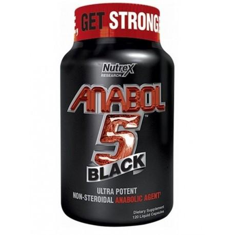 Nutrex Anabol 5 BLACK (120 капс)