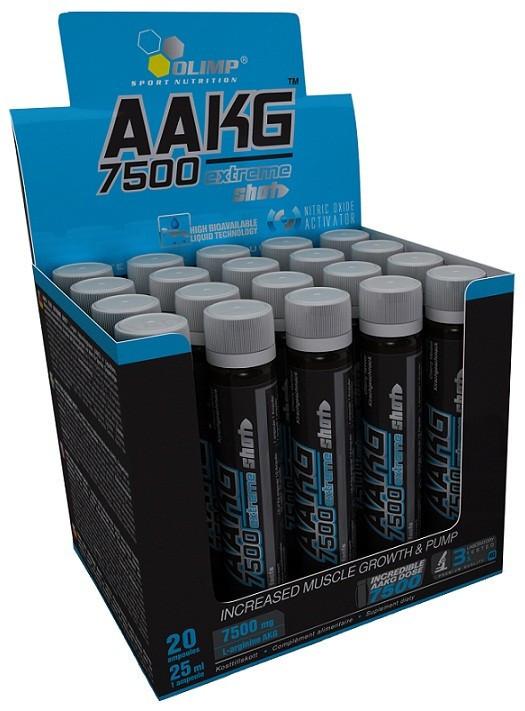 Предтренировочный комплекс Olimp Labs AAKG 7500 Extreme Shot ampoule (20x25 мл)