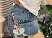 Джинсовая юбка с аппликацией Банни, фото 7