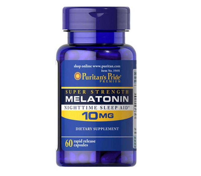 Снотворное Puritan's Pride Melatonin 10 мг (60 капс)