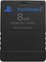 Карта памяти 8Mb (Black) PS2 оригинал