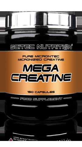 Креатин Scitec Nutrition Mega Creatine 5000 mg (150 капс)